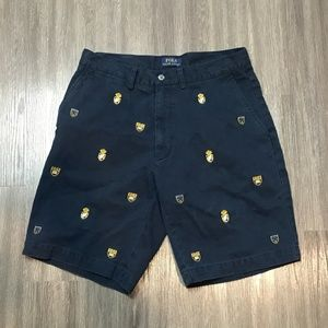 Polo Ralph Lauren Embroidered Crest Shield Shorts